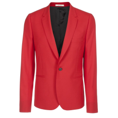 Coat Hood Belted – Red
