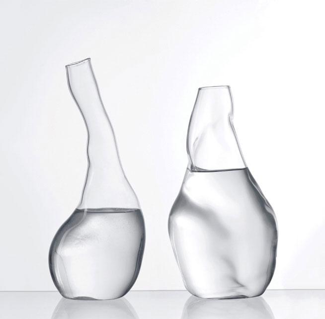 Transparente Carafe Andreas